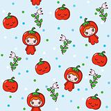 Fruit Kids Pattern