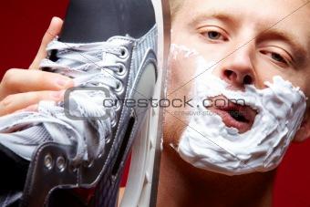 Skate shaving