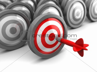 right target