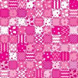 vector pink patchwork art background
