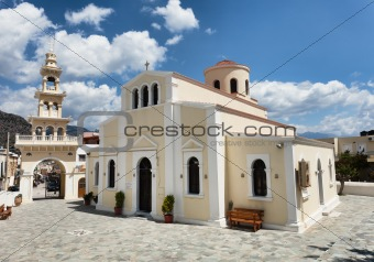 Church in Paleohora on Crete