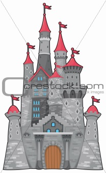 Medieval and fantasy castle.