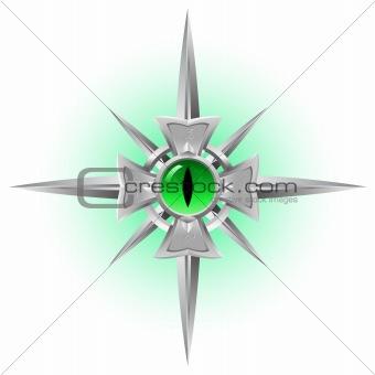 Amulet. Dragon Eye.