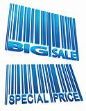 sale price barcode set