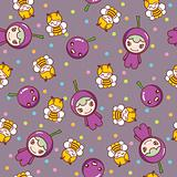 Fruit and KIds Pattern