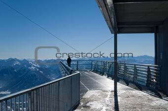 Dachstein glacier lookout