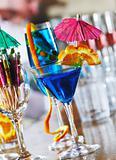 fresh cocktail drink in night bar