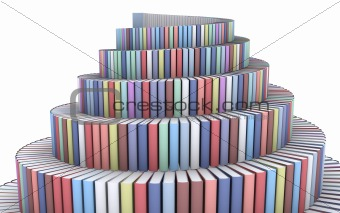 Tower from books