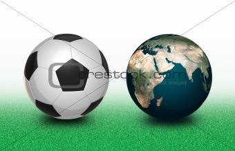Football and Earth