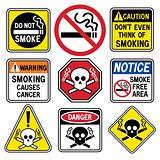 Smoking Hazard Signs