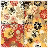 Spiral Flower Pattern