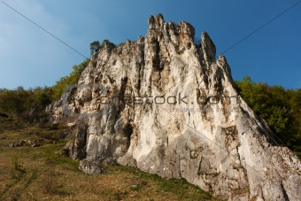 climbing rock in konstein bavaria germany