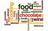 Food and Cooking Word cloud