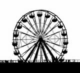 Outline of a Small Ferris Wheel