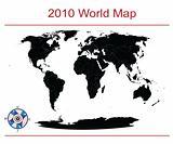 Editable world map