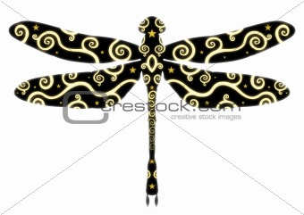 Patterned Dragonfly
