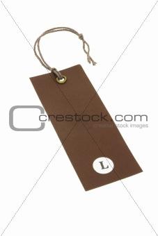Size L tag