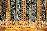 glazed tile in Temple