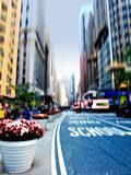 City life at Manhattan