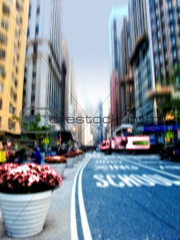 City life at Manhattan