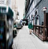 Street life at Manhattan - New York City
