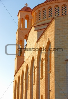 Church in Paphos in Cyprus