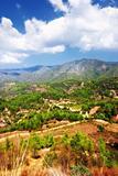 Landscape in  Cyprus