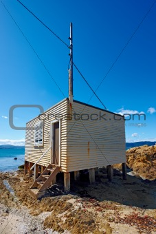 Fisherman's house - New Zealand