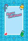 Christmas Frame  Background