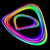Multicolor spectral closed curve