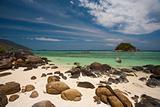 Rocky Beach Small Island Koh Lipe