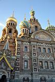 The Church of the Savior on Blood in St.Petersburg