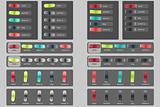 Slider buttons
