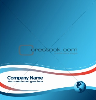 Abstract image of vector corporate identity