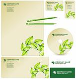 Vector GREEN business package / corporate identity template