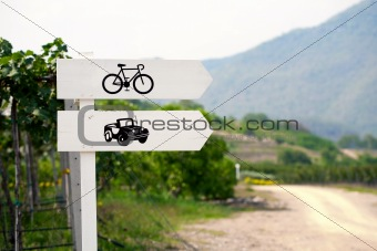 Transportation sign