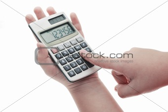 Operating calculator