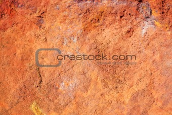 Background of iron surface rock.