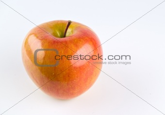 A Single Fuji Apple
