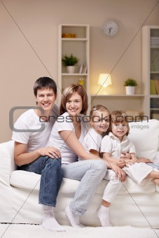Family with children