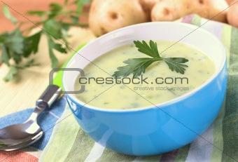 Potato Soup with Herbs