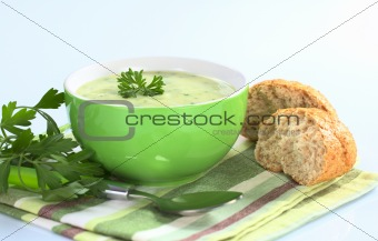 Potato Soup with Herbs