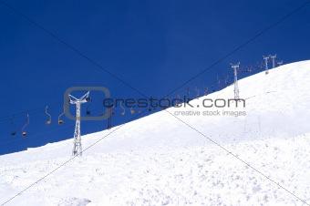 Old ski lift