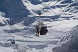 Ski lift. Caucasus. Elbrus