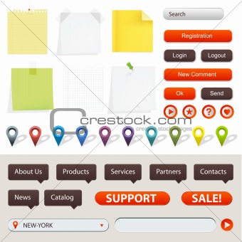 GPS Navigation Elements