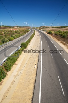 highway to the windmills