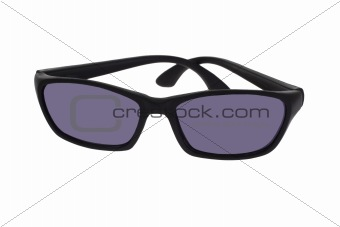 Black plastic toy spectacles