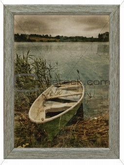 decorative wooden frame