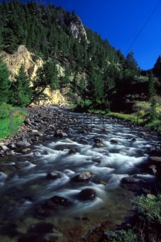 Gardner River - Yellowstone National Park