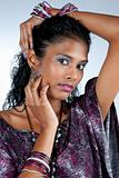 beautiful woman of east indian ancestry